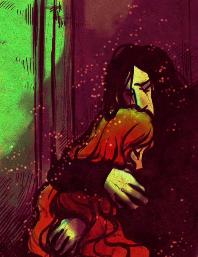Snape and Lily 3 by pebbled