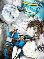 Tales of Zestiria: Mikleo and Sorey by RemEmber395