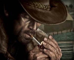 Marlboro Man-Digital Painting