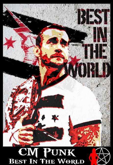 Cm punk best in the world hoodie
