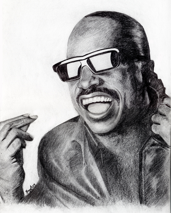 Mr Stevie Wonder by Zenithuk