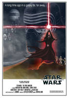 Star Wars - The Force Awakens Retro by OllieBoyd
