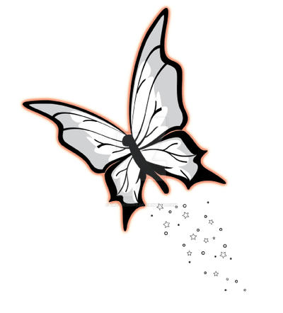 aa8cf0ac4 Butterfly with Stars Tattoo by DKY-Designs on DeviantArt