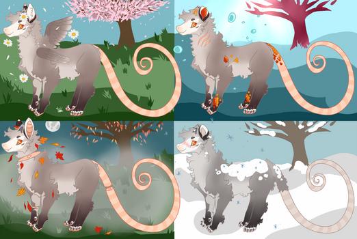 Petunia's Seasonal Forms