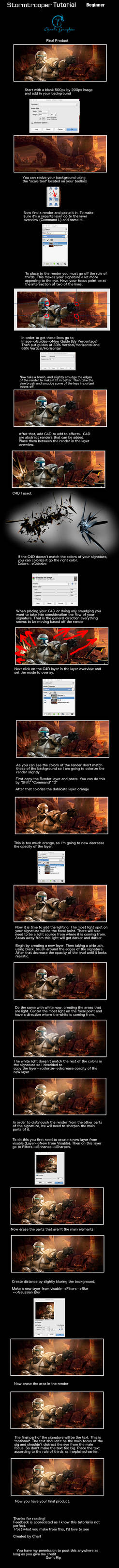 StormTrooper Tutorial