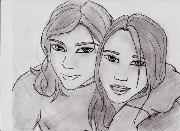 Laru and me by X-Alison-X