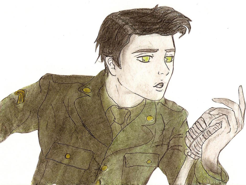 Gerard Ghost of You Coloured by X-Alison-X