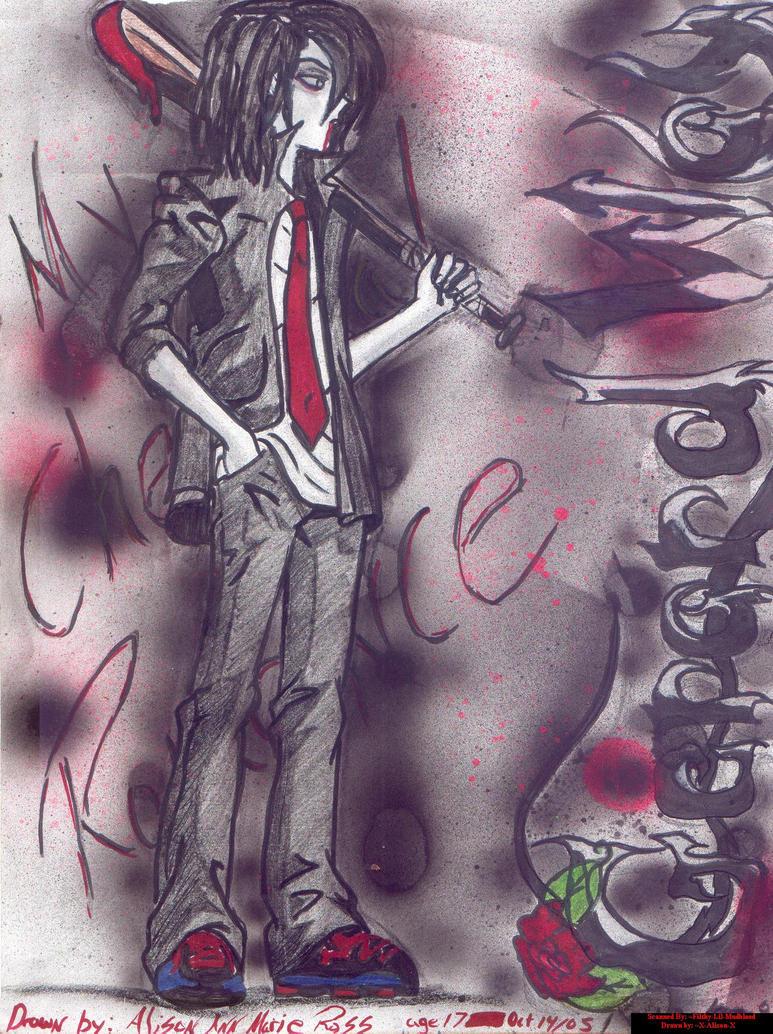 Gerard Way by X-Alison-X