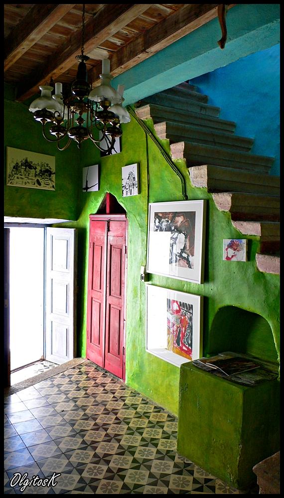 Patmos Island Chora - Gallery lobby. by Eclipseo