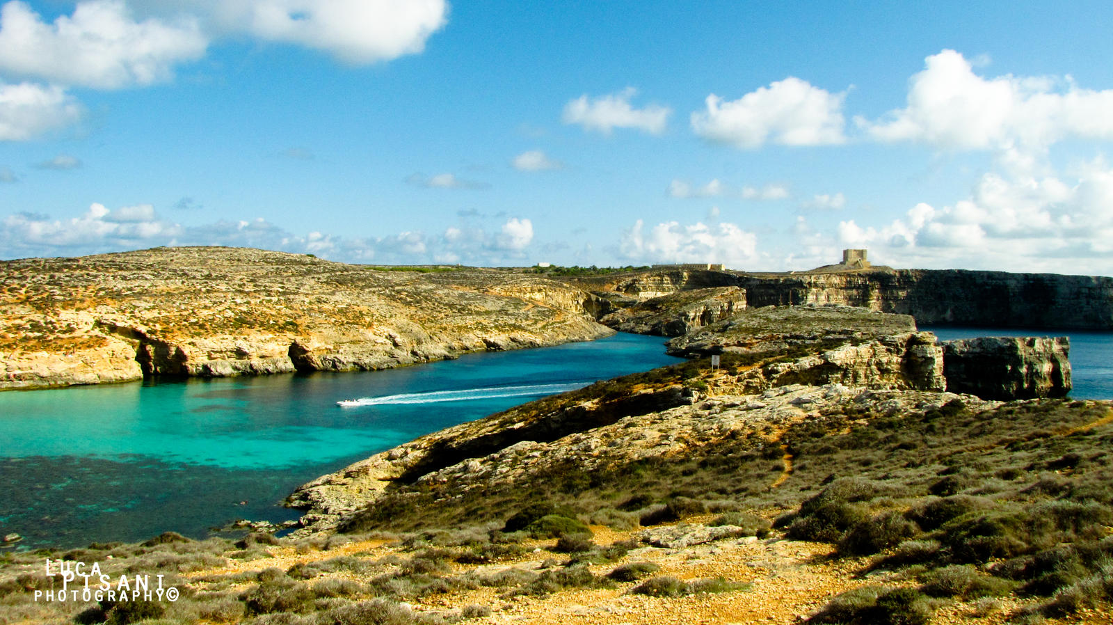Blue Lagoon - Panorama by Maltese-Naturalist