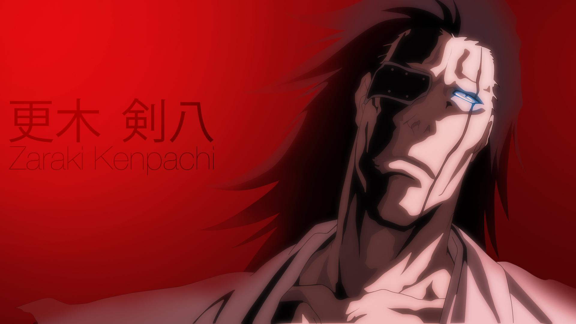 Zaraki Kenpachi by ImScrappY