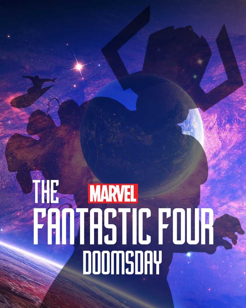 Marvel Cinematic Universe Fantastic Four 3 Poster by SquishTheMovie