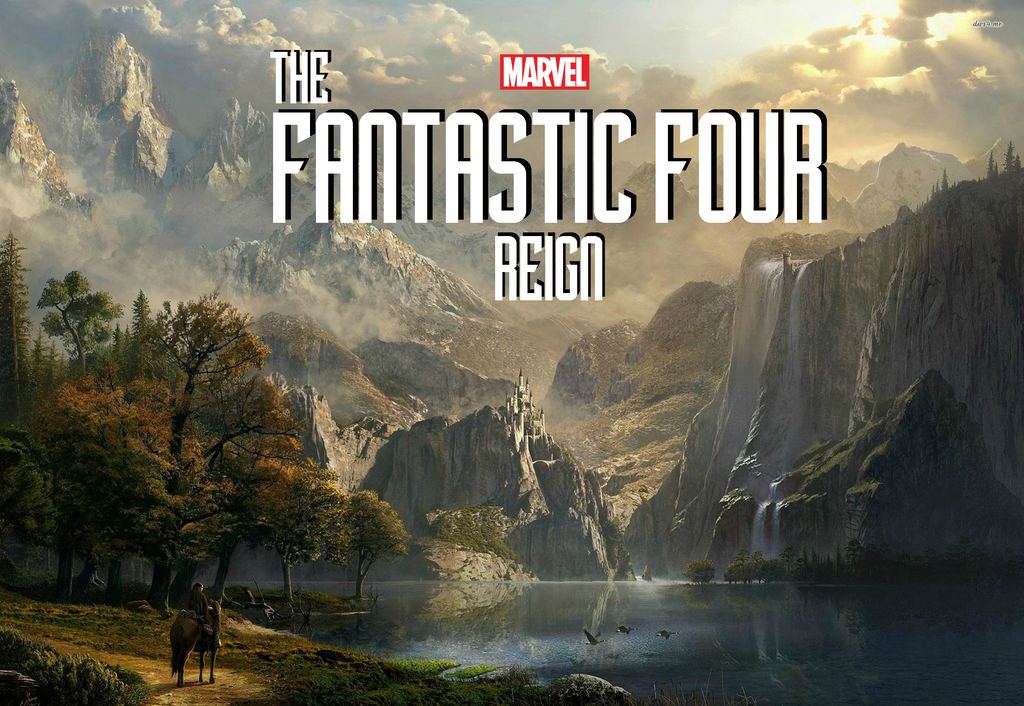 Marvel Cinematic Universe Fantastic Four 4 Banner by SquishTheMovie