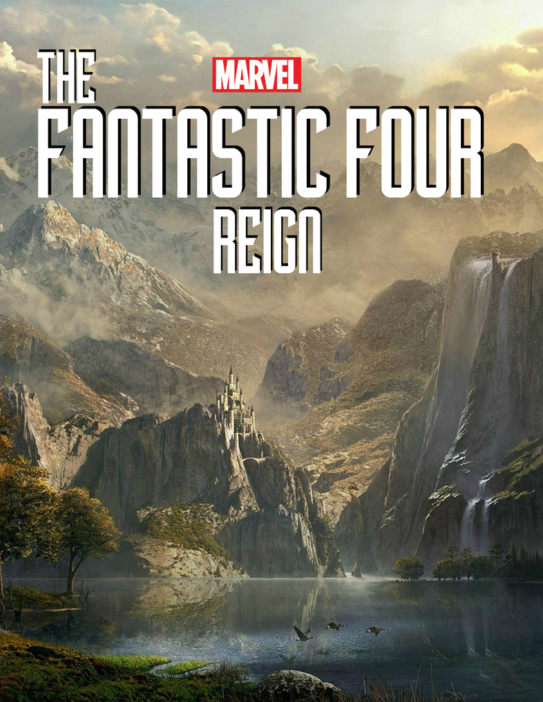 Marvel Cinematic Universe Fantastic Four 4 Poster by SquishTheMovie
