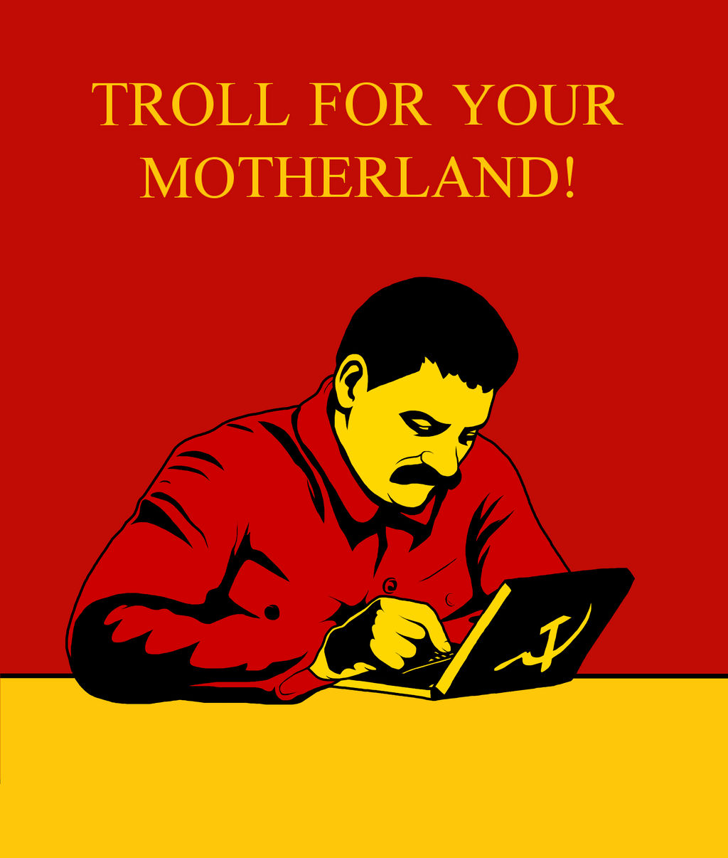 TROLL FOR YOUR MOTHERLAND! by FUK-ME