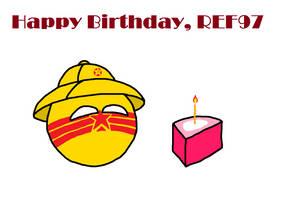 Happy Birthday REF97 by FUK-ME