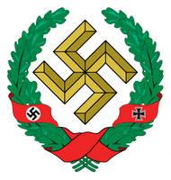 Alternative Emblem / Coat of Arms of Nazi Germany by FUK-ME