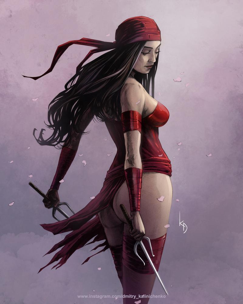 Elektra color by dkalinichenko