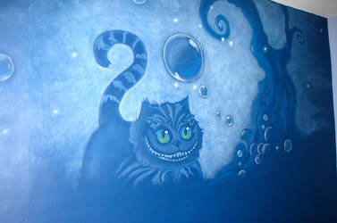 Apofiss's Cheshire Cat - Wall by EDeutsch90