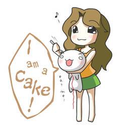 Maria's cake by noshibeya