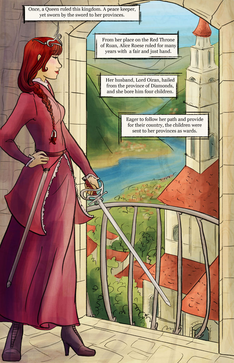 Hearts of Roese: Prologue Page 1