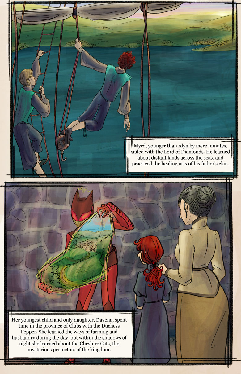 Hearts of Roese: Prologue Page 3
