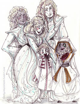 Wyndr family costumes - Inktober 2015 #2