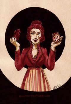 Queen of Hearts - Inktober #3
