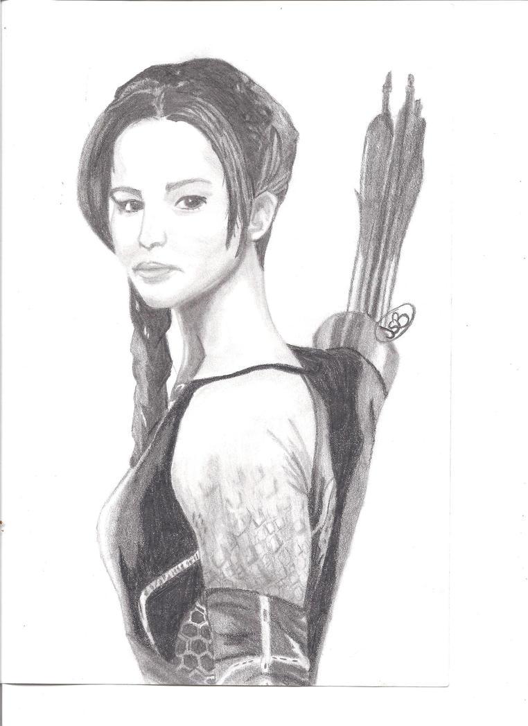 Katniss Everdeen by RajniDiamanda