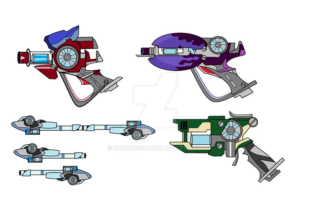 Slugterra-Blaster Set by PenKing14