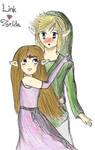 Link x Zelda: Shyness
