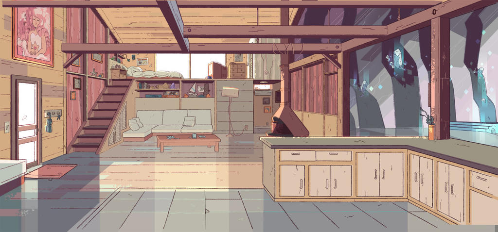 Gentil Steven Universe Kitchen Background By Danielfanbro850 ...