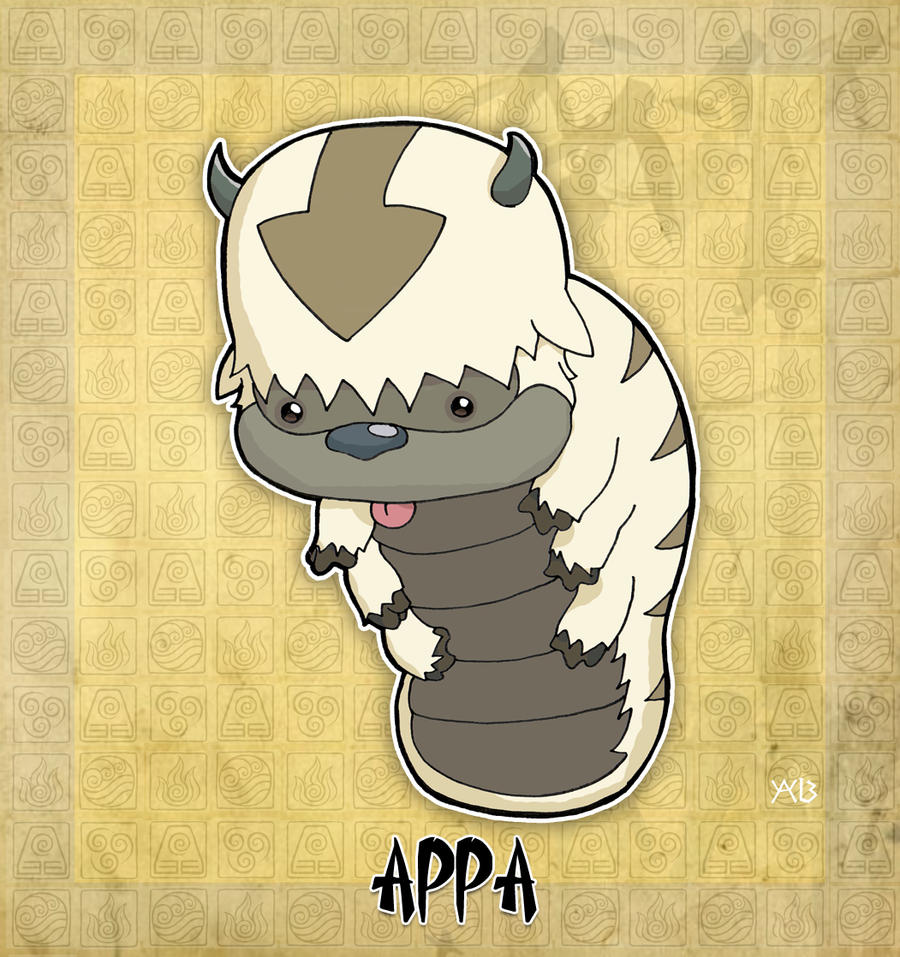 The Last Airbender Movie Appa: Appa The Flying Bison By Rabidcyrus On DeviantArt