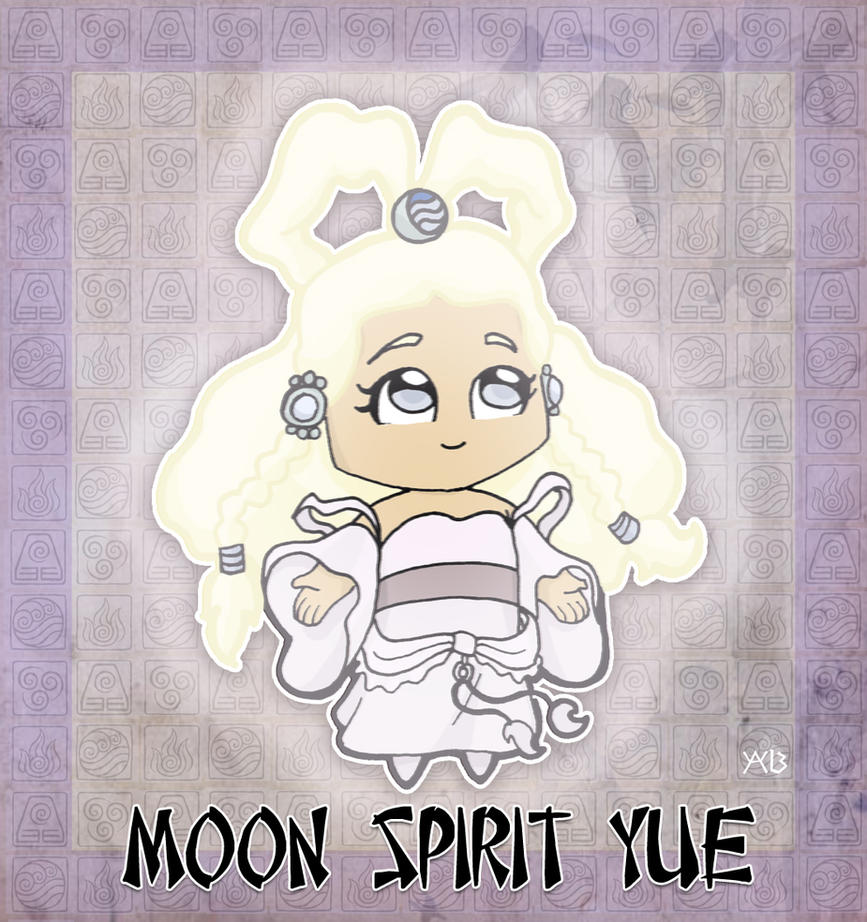 Moon Spirit Yue by rabidcyrus