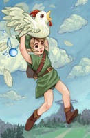 fly link, fly. by amiima