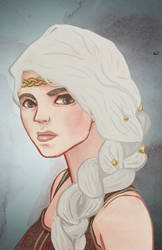 mother of dragons by amiima