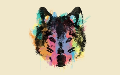 Abstract Animals Wolves Background 1280x800 Wallpa By Luna Moonx
