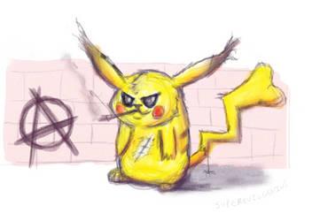 pikachu by superevilgenius