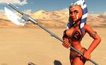 Clone Wars girl
