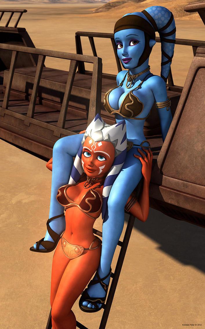 Ahsoka And Aayla
