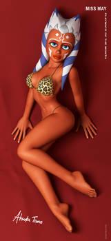 Ahsoka Tano in sexy bikini
