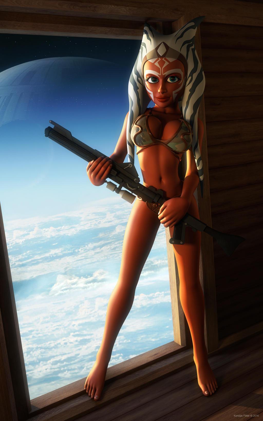Rebel soldier Ahsoka Tano by kondaspeter1 on DeviantArt