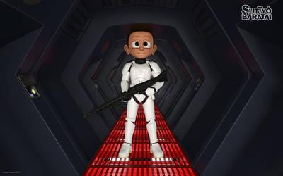 Suttyo as stromtrooper