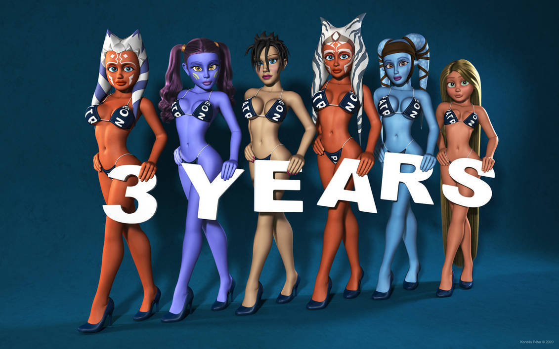 I am 3 years old on Patreon!
