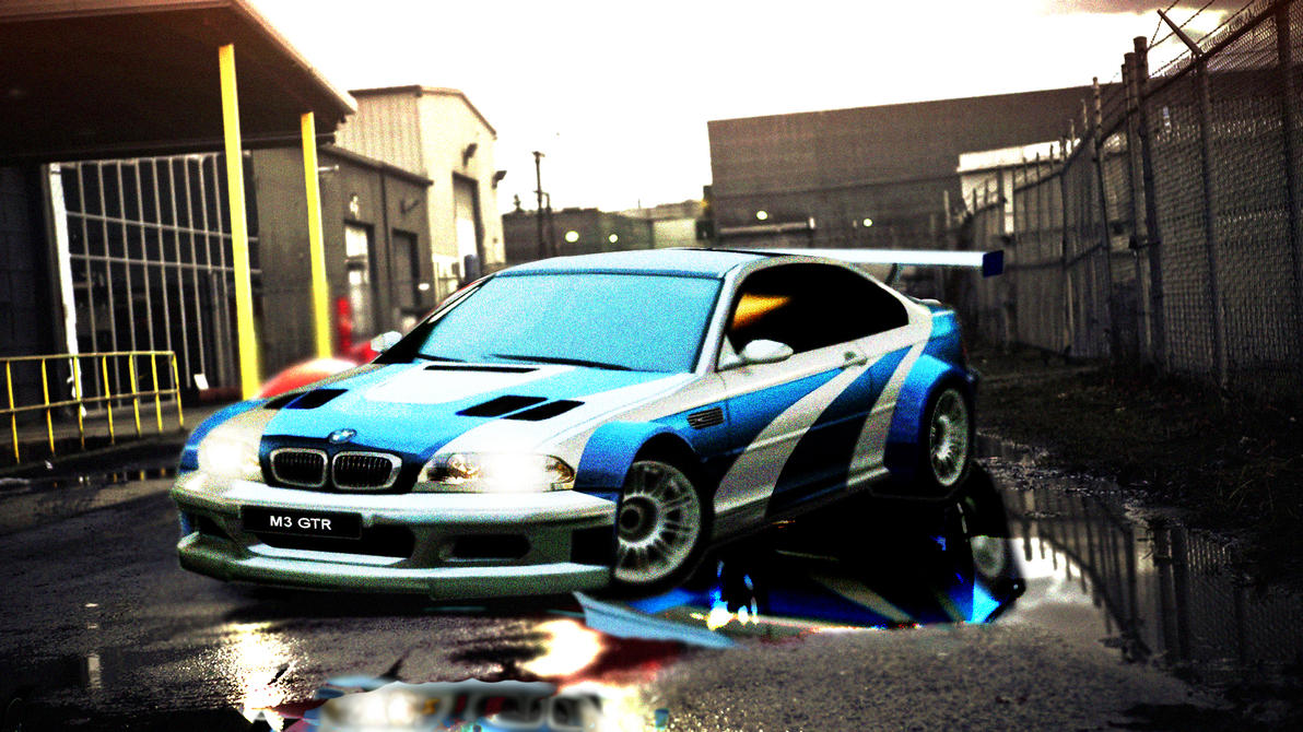 bmw m3 gtr nfs most wanted wallpaper hdgothicdiamond99 on deviantart