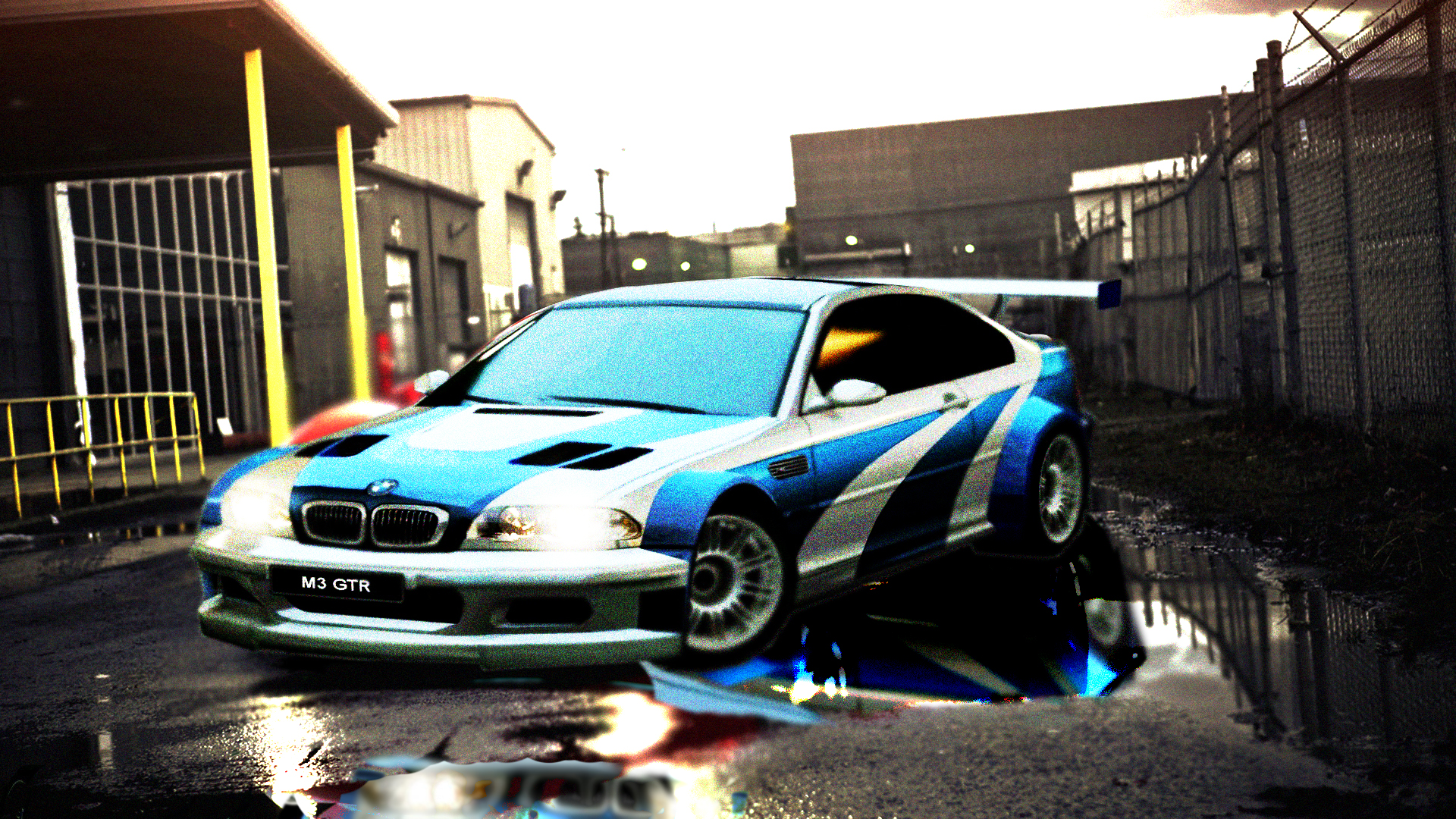 Bmw M3 Gtr Nfs Most Wanted Wallpaper Hd By Gothicdiamond99