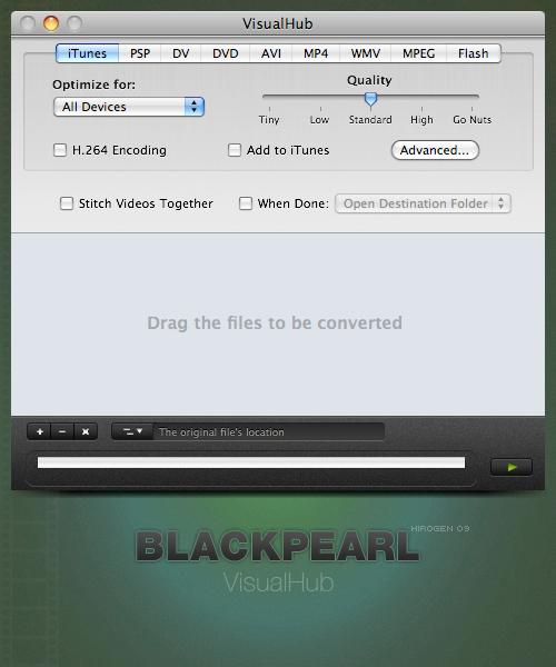 BlackPearl - VisualHub by cYPoHirogen