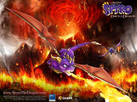 Spyro DotD wallpaper 2 by IcelectricSpyro