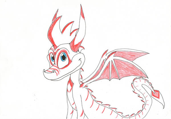 Official dragon for Gaphas by IcelectricSpyro