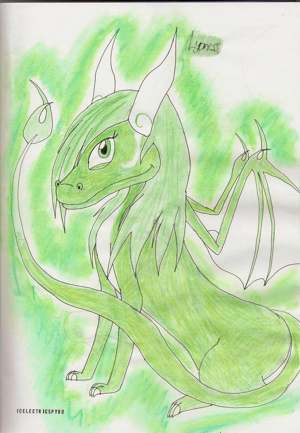 Lyoness - My next character by IcelectricSpyro